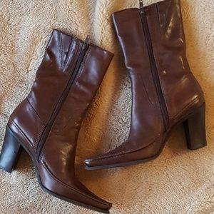Naturalizer - Leather Boots.  EUC.